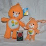 Новый Мишка Care Bears Заботливые мишки с цветочком и малыш брелок
