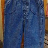 джинсы синие George 12-18 мес 81-86 см. 100% котон