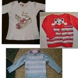 Новый детский свитер туника, реглан, свитер