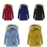 Стеганая женская зимняя куртка большие размери