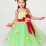 костюм Весни, весна, квітка, цветок, ромашка, нарцис, підсніжник мак на 3-10 років - Київ, Позняки