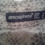 Блуза летняя со змеиным принтом ATMOSPHERE
