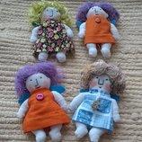 Маленькие куколки ручной работы