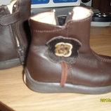 Кож.ботинки-Сапожки на весну - осень,18 разм.