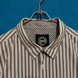 Рубашка белая в полоску PETER WERTH London 54-56р