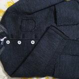 Стильное шерстяное пальто TYPE-A1 120 СМ