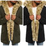 Стильная мужская зимняя куртка парка