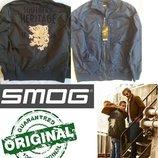 Куртка бомбер пилот оригинал Smog Германия M,L, Zara Alpha милитари