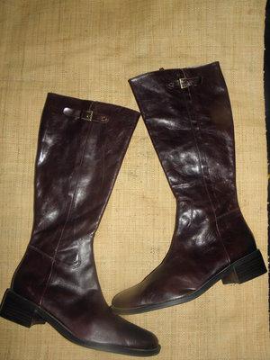 6bc001c57 Осень-зима завоз 41р-28 см новые кожа сапоги ВАТА Италия: 790 грн ...