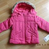 Демисезонная куртка,еврозима на девочку,Германия.