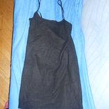 Платье синего цвета хамелеон р.46-48