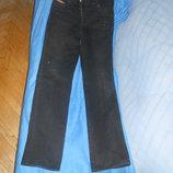 Джинсы черного цвета Wrangler р.42-44