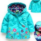куртка детская на девочку парка плащ