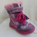 Шалунишка 28, 29 р зимние сапоги - кожаные ботинки из кожи