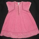 Платье-Сарафан нарядный вельветовый Next от 86 см как новый