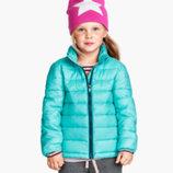 курточка бирюзовая от Тм H&M для девочек