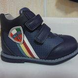 Демисезонные ботинки 21,22,25 р. Tom.m на мальчика, осенние, весенние, флисе, утепленные, том.м