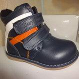 Демисезонные ботинки 20, 21 р. демі, весенние, весна, осенние, осень, ортопед