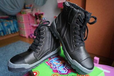 Ботинки для мальчика демисезонные, черные, новые р. 36,37,38,39