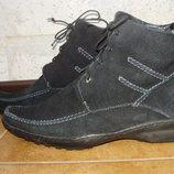 Зимние ботинки Chеster, нат.замш, 25.5см
