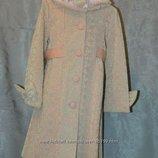 Кашемировые пальто для девочек. 104-128см Распродажа. Старые цены