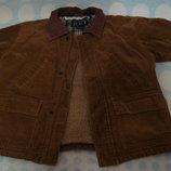 Куртка теплая для мальчика на 3 года, рост 98-104 см, б/у
