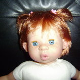 шикарная кукла-пупс Рыжик NINES ARTESANALS D'ONIL Испания оригинал 46 см
