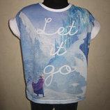 На 6,5-8 лет Модная футболка Frozen от YD девочке