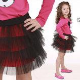 Пышная юбка юбочка фатин ту-ту в 3х цветах для девочек 86 92 98 104 110 116 122 128