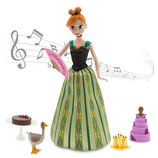 Набор Кукла Анна поющая Deluxe с аксессуарами.