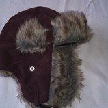 Детская шапка-ушанка Okaou