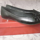 Новые кожаные туфли - балетки Laura di Sarpi 37 разм