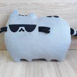 Мягкая игрушка-подушка Кот Пушин Pusheen - the cat ручная работа