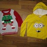 Фирменные свитера, кофты, свитшоты на мальчика 1-3-х лет в отличном состоянии