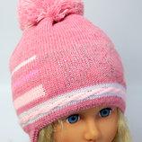 вналичии новая двойная весна осень шапка для девочка 1,5-3,5 года