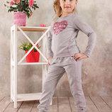 Спортивный костюм реглан и штаны для девочек