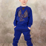 Спортивный костюм для мальчика реглан и брюки