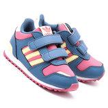 Детские кроссовки Adidas ZX 700 CF Blue Pink