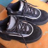 Продам, Ботинки замшевые, размер 33