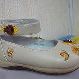 Демисезонные туфли 21-25 р. на девочку демі, весенние, весна, осень, осенние, туфлі