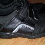 Кожаные кроссовки туфли мальчику clarks,стелька 16,5 см
