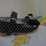 Демисезонные туфли 22-24 р. на девочку демі, весенние, весна, осень, осенние, туфлі