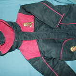 Демисезонный - зимний комплект курточка штаны