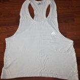 Белая майка Adidas-размер L