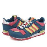 Детские кроссовки Adidas ZX700 Kids Blue Red