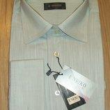 Фирменная мужская рубашка рL 41-42 под запонки