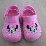 Кроксы аквашузы ветнамки 15,6см детские Disney Дисней обувь для пляжа бассейна