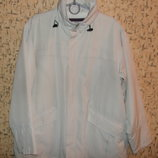 Куртка ветровка на флисе р.56-58