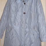 Зимнее пальто на силиконе.54-56р.