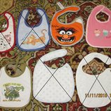 Фирменные фартушки-слюнявчики и арафатки для малышей